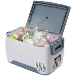 SMARTCLOUDLIFE Car Fridge Portable Freezer Cooler w/ 12/24V Dc, Travel Refrigerator For Vehicles, Car, Truck, Rv, Camping Bbq in Gray   Wayfair