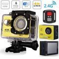 """Caméra d'action H9R Ultra HD 4K WiFi télécommande caméra de Sport 2.0 """"30m Go étanche Pro Sport DV"""