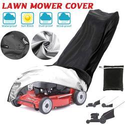 75.2x26.4x16.3inch Universal Lawn Mower Cover Protecter Premium Oxford Heavy Duty Push Mower Cover, Anti UV & Mildew & Dust & Water