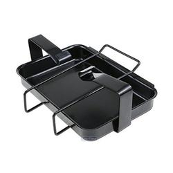 Uniflasy 7515 Grill Catch Pan Holder/ Drip Pan/ Grease Collection Pan Replacement Parts for Weber Genesis 1000-5500, Genesis Silver/Gold/Platinum, Genesis II Series, Platinum I/II, and