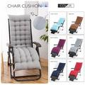 Lounger Bench Cushion Garden Patio Chaise Chair Sofa Furniture Cushion Pad Indoor/Outdoor Use 65inch
