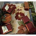 Couristan Dolce Novella Rose Bud Indoor/Outdoor Area Rug
