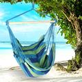 Hanging Rope Hammock Chair Swing Seat for Any Indoor or Outdoor Spaces,660 lbs Weight Capacity - 2 Seat Cushions Included,Hanging Hammock crame Bar Chair Swing Outdoor Home Garden Patio Chair Seat
