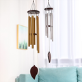 Classic Wind Chimes Outdoor,Handmade Large Wind Chimes Windbell Gift Hanging Ornament,Angel Wind Chimes with 6 Aluminum Tuned Tubes for Indoor Patio