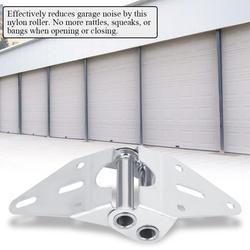 Gupbes 27PCS Garage Door Gate Nylon Roller Wheel Hinge Kit Car Door Heavy Duty Parts,Heavy Duty Parts, Garage Door Heavy Duty Parts