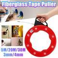 30M/20M 3mm/4mm Fish Tape Puller Wire nylon Tape Flexible Nylon Conduit Pulling