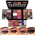 All In One Makeup Gift Kit?Professional 74 Colors Makeup Set Combination Palette for Women - 36 Eyeshadow, 28 Lip Gloss, 3 Blusher, 4 Concealer, 3 Contour Powder, 3 Brushes, 1 Mirror