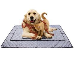 YouLoveIt Dog Pet Sleep Mat Feeding Mat Non-slip Waterproof Non-Stick Food Pad Washable Mat Non Slip Dog Cat Bowl Placemat Breathable Cushion Pad Sofa Car Seat Floor