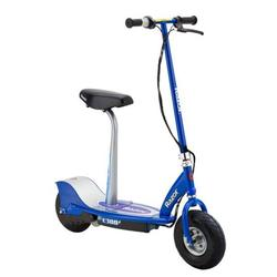 Razor E300S Rechargeable Cushioned Seat Electric Motorized Scooter, Blue