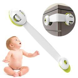 Baby Safety Lock Child Safety Lock Baby Anti-Pinch Cabinet Cabinet Door Lock Buckle Baby Protection Refrigerator Lock Drawer Lock