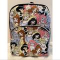 Disney Accessories | Disney Princesses Backpack | Color: Blue/Pink | Size: Os