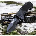TAC FORCE BLACK TACTICAL Pocket Knife Folding Blade NEW! (Original Version)