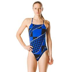 Speedo Women's Swimsuit One Piece Endurance The One Printed Team Colors