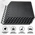EVA Foam Interlocking Tiles Small Protective Foam Floor Mats for Stationary Home Gym Equipment Soft Foam Puzzle Exercise Mat for Fitness Equipment or Home Gym Flooring