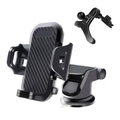 Mobile Phone Car Holder Mount UrbanX Windshield/Air Vent/Dashboard Cell Phone Holder for Car 360 Degree Rotation Universal Suction Mount Stand Compatible with HTC One M9 Prime Camera
