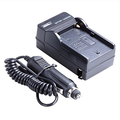 Neewer AC Wall Charger with In_Car Adapter for Sony NP_F550_F750_F960_F330_F570 PA_VBD1 PA_VBD2 Batteries