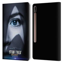 Head Case Designs Officially Licensed Star Trek Discovery Character Posters Sylvia Tilly Leather Book Wallet Case Cover Compatible with Samsung Galaxy Tab S7+ / Tab S7 Plus 5G