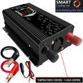 5000W Multifunction LCD Car Solar Power Inverters DC 12V to AC 110V Dual USB Port Charger Converter Fast Charging For Car Outdoor Household