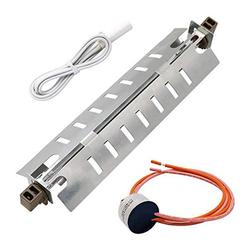 AMI PARTS WR51X10055 Refrigerator Defrost Heater Kit,Temperature Sensor WR55X10025,High Limit Thermostat WR50X10068 Replacement for General Electric
