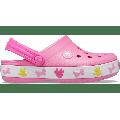 Crocs Pink Lemonade Kids' Crocs Fun Lab Disney Mickey Lights Clog Shoes
