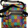 Gucci Bags | Gucci Black Gg Psychedelic Print Shoulder Bag | Color: Black | Size: Os