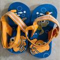 Disney Shoes | Finding Nemo 18-24m Flip Flops | Color: Blue/Orange | Size: 5bb