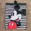Disney Accessories   Disney Mickey Mouse Drawstring Backpack   Color: Black/Red   Size: Osb