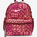 Nike Bags | Nike Just Do It Mini Backpack | Color: Orange/Red | Size: Os