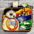 Disney Accessories   Star Wars Insulated Lunch Bag Tote   Color: Blue/Orange   Size: 4 Inches (H) X 7.5 Inches (W) X 9.5 Inches (D)