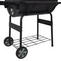 """Naisicore Multi-Function Stainless Steel Charcoal 30"""" Barrel BBQ Grill Barbecue Smoker Barbecue Smokers Tool Kits For Outdoor Picnic Patio Backyard Camping Cook"""