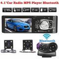 HEVIRGO 4012B 4.1 Inch Bluetooth Touch Screen 1 Din Car Radio Stereo FM USB MP5 Player