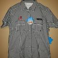 Columbia Tops | Columbia Women'S Alabama Pfg Shirt, Size Xl | Color: Black/White | Size: Xl