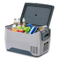 COLORFULLAVIE Car Fridge Portable Freezer Cooler w/ 12/24V DC, Travel Refrigerator For Vehicles, Car, Truck, RV, Camping BBQ in Gray   Wayfair