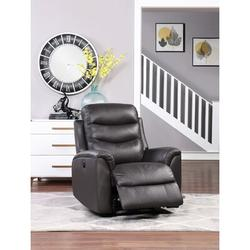 Red Barrel Studio® Mikenzi Lounge Chair, Single Sofa (Off White) Mildew Resistant/Fade Resistant/Genuine Leather in Black/Green/White | Wayfair