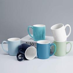 zhulinjubao Coffee Mugs Set Of 6 Porcelain Coffee Mugs Large Size Coffee Mugs Set Coffee Mug Set For Coffee Hot Tea Cocoa Colorful Coffee Mug 15 Oz Cool Assorted