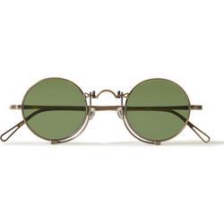 Round-frame Gold-tone Sunglasses - Metallic - Matsuda Sunglasses