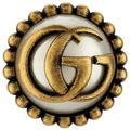 Gucci Boucle d'oreille avec cornet de glace et double g