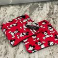 Disney Kitchen | Mickey Mouse Red Hot Pads Pot Holders | Color: Black/Red | Size: Os
