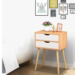 George Oliver Nightstand 2 - Drawer Nightstand Wood in Yellow, Size 23.67 H x 15.8 W x 11.8 D in   Wayfair 963391E23E244F569FB1E672B22BD5E4