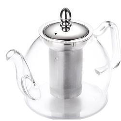 ZWISSLIV Glass Teapot Set, 32 OZ Glass Teapot w/ Removable Infuser & 4 Cups, Stovetop Safe Tea Kettle, Blooming & Loose Leaf Tea Maker Set | Wayfair