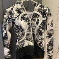 Lululemon Athletica Jackets & Coats | Lululemon Scuba Jacket | Color: Black/White | Size: 4