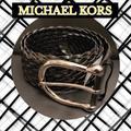 Michael Kors Accessories | Michael Kors Woven Leather Belt | Color: Black | Size: Small