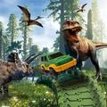 Dinosaur Toys-144Pcs Dinosaur Race Track Train Cars Create A Dinosaur World Road Race Flexible Track Toys for 3 4 5 6 7 Year Old Boys Girls Best Gift