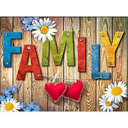 Family 300 Piece Puzzles for Adults Alphabet Jigsaw Puzzles 300 Pieces Puzzles for Adults Kids Large Puzzle Game Toys Gift
