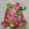 Lilly Pulitzer Dresses   Lilly Pulitzer Baby Lilly Shift Nwt Size 6-12mos   Color: Green/Pink   Size: 6mb