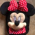 Disney Accessories | Kids Minnie Mouse Backpack | Color: Black/Red | Size: Osg