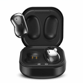 UrbanX Street Buds Live True Bluetooth Wireless Earbuds For Lenovo Yoga Tab 3 Plus With Active Noise Cancelling (Wireless Charging Case Included) Black