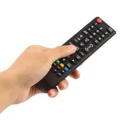 Top Deals For Samsung TV Universal Remote Control Universal TV Remote Controller For LCD LED Smart TV Satellite TV Monitors black
