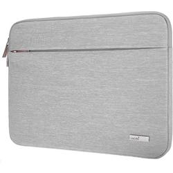 """Lacdo 13.3 inch Laptop Sleeve Computer Case for Old 13 inch MacBook Air 2010-2017 Old 13-inch MacBook Pro 2012-2015 13.5"""" Surface Book 2 1 / Laptop 3 2 1 ASUS HP Dell Acer Chromebook Bag, Gray"""