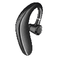 Bluetooth Headset, Wireless Bluetooth Earpiece with 35 Hours Playtime and Noise Cancelling Mic, Ultralight Earphone Hands-Free for Most Phone BLACK